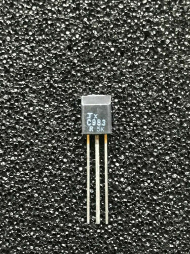 TO98FLACH 5 Stück//pcs 2SC983R Silicon NPN Triple Diffused Transistor TOSHIBA