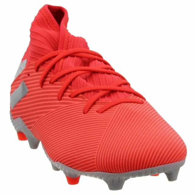 adidas Nemeziz 19.3 Firm Ground  Casual Soccer  Cleats - Red - Mens