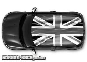 707 Car Roof Wrap Printed Sticker Mini Cooper Union Jack