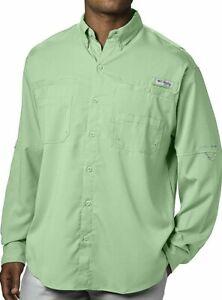 Columbia Mens Big and Tall Tamiami Ii Big /& Tall Long Sleeve Shirt XLT White Cap