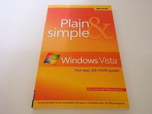 Windows Vista Magazine Booklet  Plain amp Simple Windows Vista  2007 - Banbury, United Kingdom - Windows Vista Magazine Booklet  Plain amp Simple Windows Vista  2007 - Banbury, United Kingdom