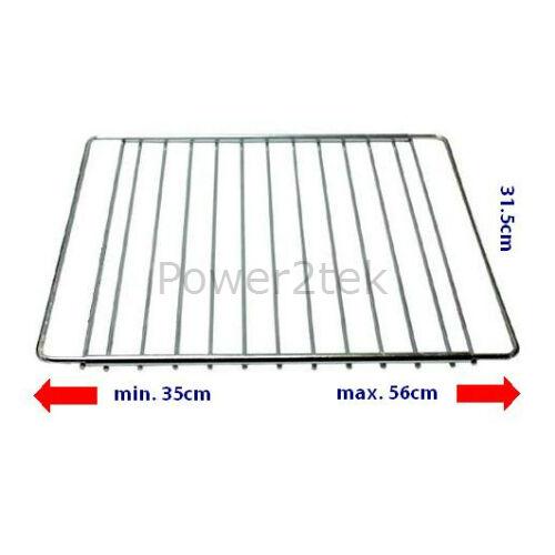 3 x Candy Universal Adjustable Fridge Freezer//Refrigerator Shelf Rack Grid NEW