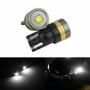 Blanc 5w 168 Sur Xenon Led T10 Ampoules 2x W5w Voiture Détails 12v 194 Veilleuses Lampe 501 3L54RqAj