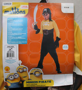 Minion-Pirate-Halloween-Costume-Outfit-Rubies-Jumpsuit-Goggles-Movie-Small-4-6