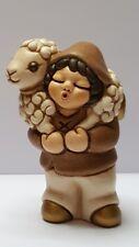 thun presepe classico pastore con pecora agnello capretta contadino gatto teddy