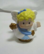 Fisher Price Little People ANGEL Gold Shoes Star ~ Nativity Bethlehem Stable