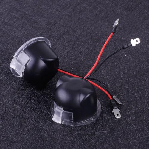 2 Weiß LED Unter Seitenspiegel Pfütze Licht für Lincoln MKZ MKS MKX Navigator LS