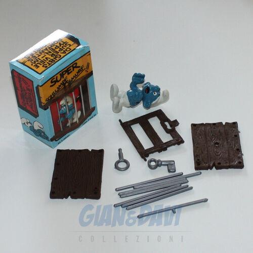 PUFFO PUFFI SMURF SMURFS SCHTROUMPF 4.0212 40212 Smurf Cage Prigioniero Box 5A