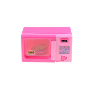 1 Set Plastic Microwave Oven Kids Toy Home Child Girls Role Play Pretend Toy FO