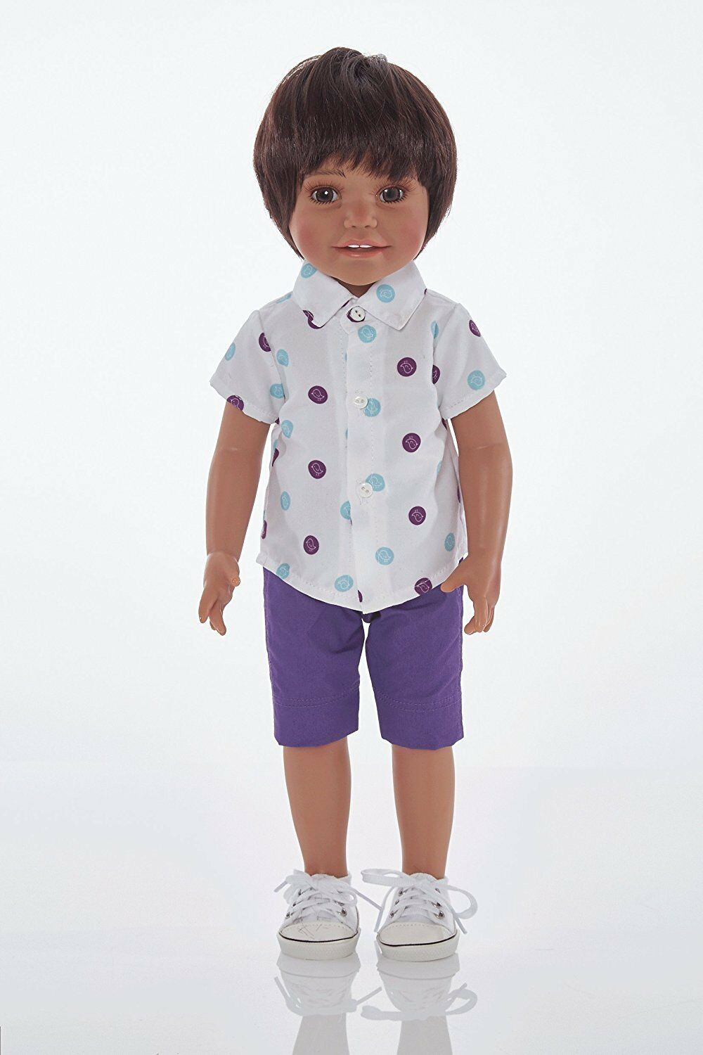 Boy Doll called Jay from All About The Doll medium skin tone 18 inch doll