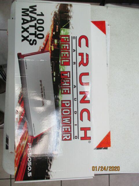 Crunch PZ-2020.4 2000W Powerzone 2 ohm Stable 4-Channel Class-A//B Car Amplifier