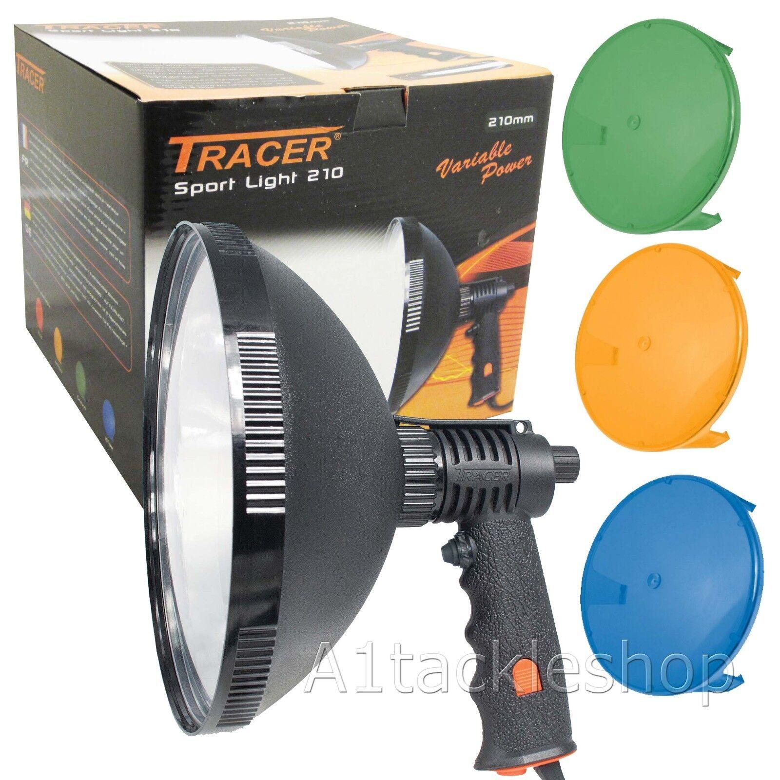 Tracer Sport Luz 210 800 M variable de mano caza de la lámpara con tres filtros