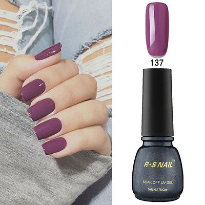 RS-Nail PP137 Gel Nail Polish UV LED Varnish Sunset Purple Soak Off Professional
