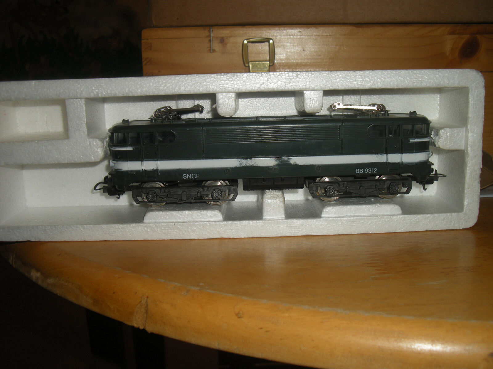 Lima 8021l Locomotive FRENCH SNCF BB 9312 Scale h0