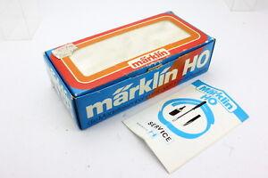 Marklin-3065-OVP-Leerkarton-mit-Anleitung-fur-Diesellok-V60-BR-260-417-1-TOP