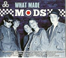 What Made MODS - JAMES BROWN - BOOKER T - BO DIDDLEY - LITTLE EVA - 3 x CDs