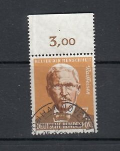 BRD-Mi-Nr-297-Oberrand-zentrisch-gestempelt-Hannover