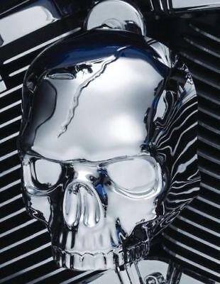 RPM Kuryakyn 5730 for Chrome Skull Horn Cover for 2017-2018 Harley