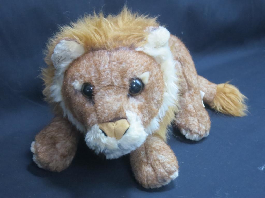E&J CLASSIC LIFELIKE braun LION PLUSH STUFFED ANIMAL AFRICAN SAFARI JUNGLE CAT