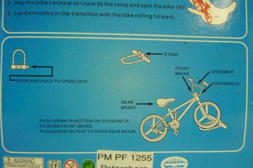 Confezione Originale Real Dita Bike-Set 3 pezzi Rosso Blu Argento-Nuovo