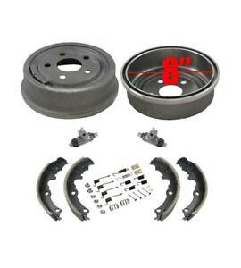Rear Brake Drums /& Shoes /& Brake Springs Fits 2003-2005 Cavalier Sunfire