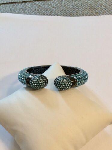 Joan Boyce Blue Crystal Small Bracelet