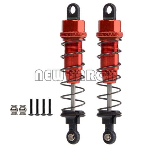 Red Aluminum 75MM Oil Adjustable Shocks Absorber For RC 1//10 HPI HSP Tamiya CC01