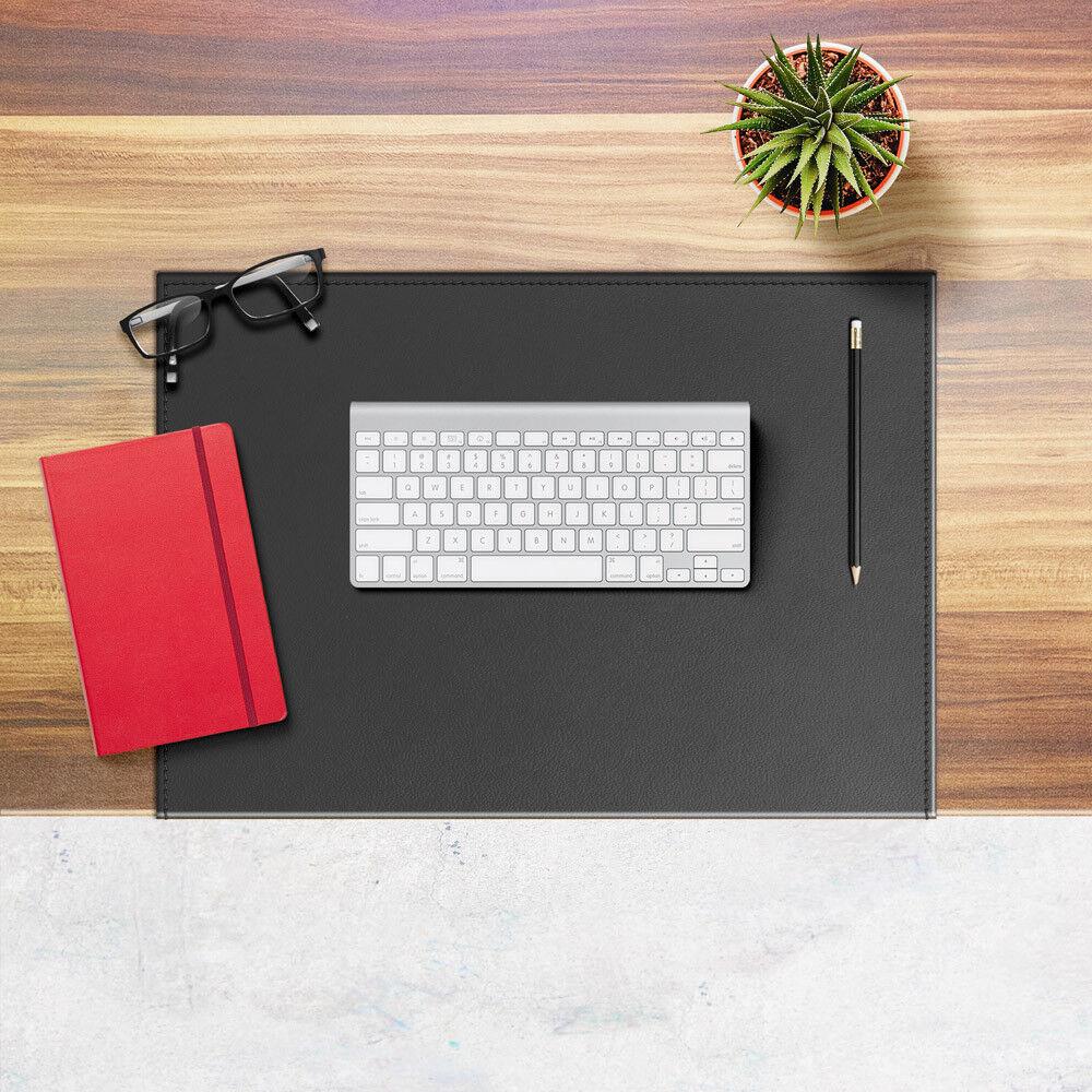 Schreibunterlage aus Leder Grau Gleitschutz mit Aufbau aus Stahl cm 50x35 | Online Kaufen  | Online Kaufen  | Verkauf