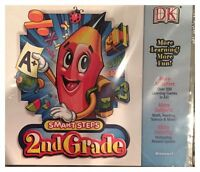 Dk Smart Steps 2nd Grade (pc) Brand Sealed - Win10, 8, 7, Xp - Nice