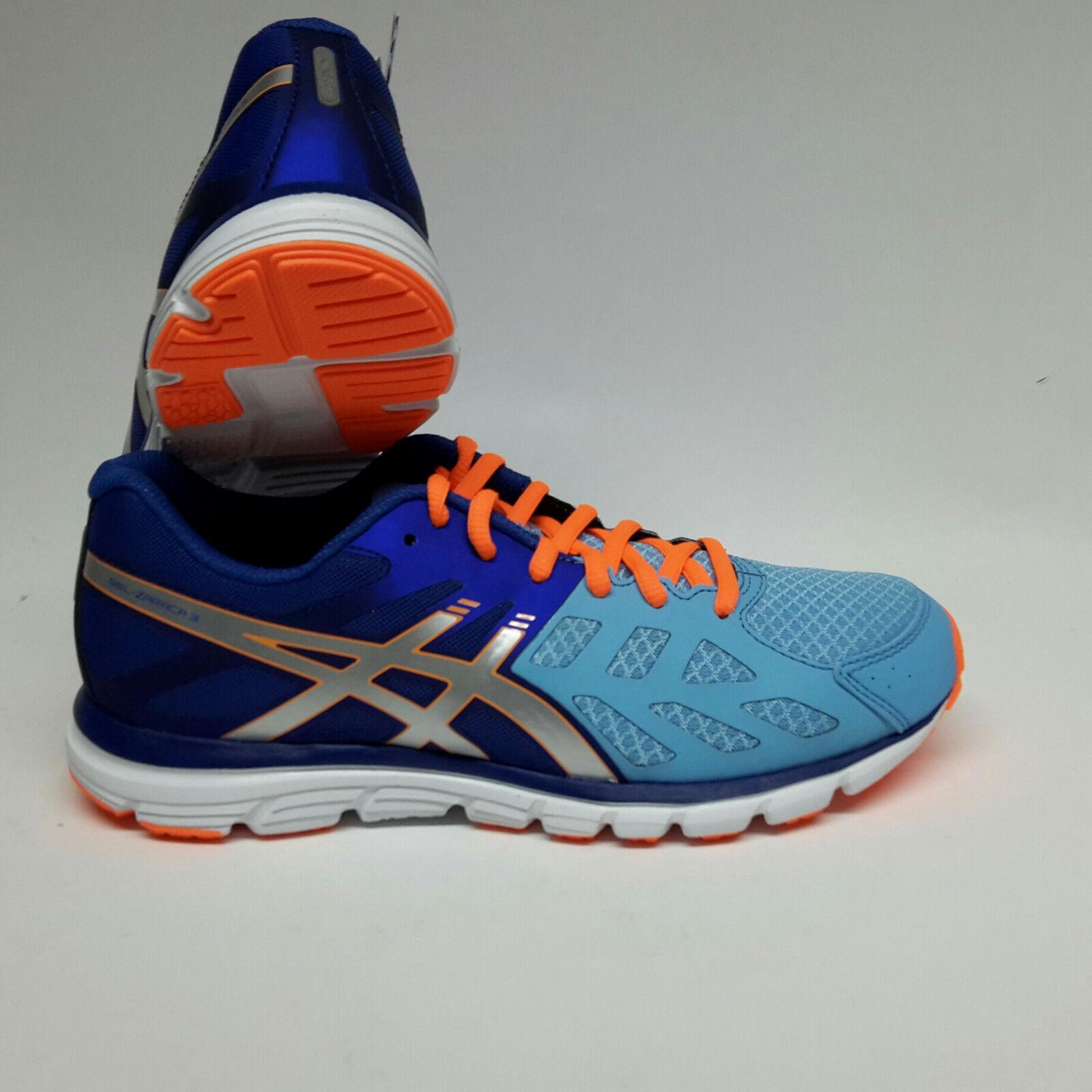 Asics Gel Zaraca 3 soft Blau/silver/ nec Damens Damen Laufschuhe Gr. UK 6 / 39,5