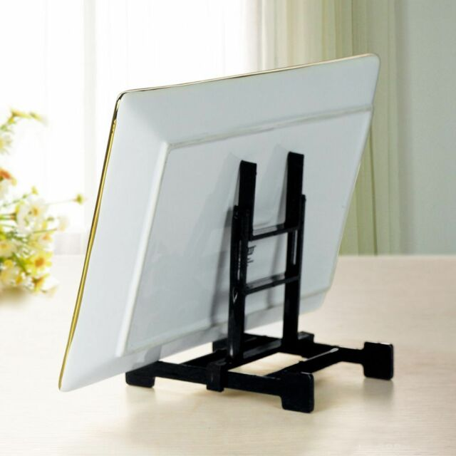 Fashion Easel Plate Art Crafts Photo Picture Frame Book Holder Display Stands c
