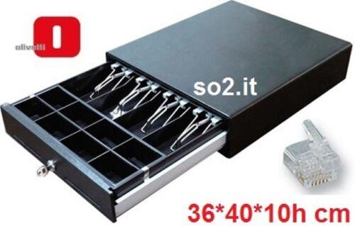 Cassetto porta soldi GRANDE portavaluta in ferro 36x40 Registratore di Cassa