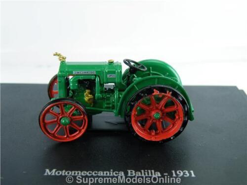 Motomeccanica Balilla Modèle Tracteur 1931 Classic Farming version PKD R 0154 X {:}
