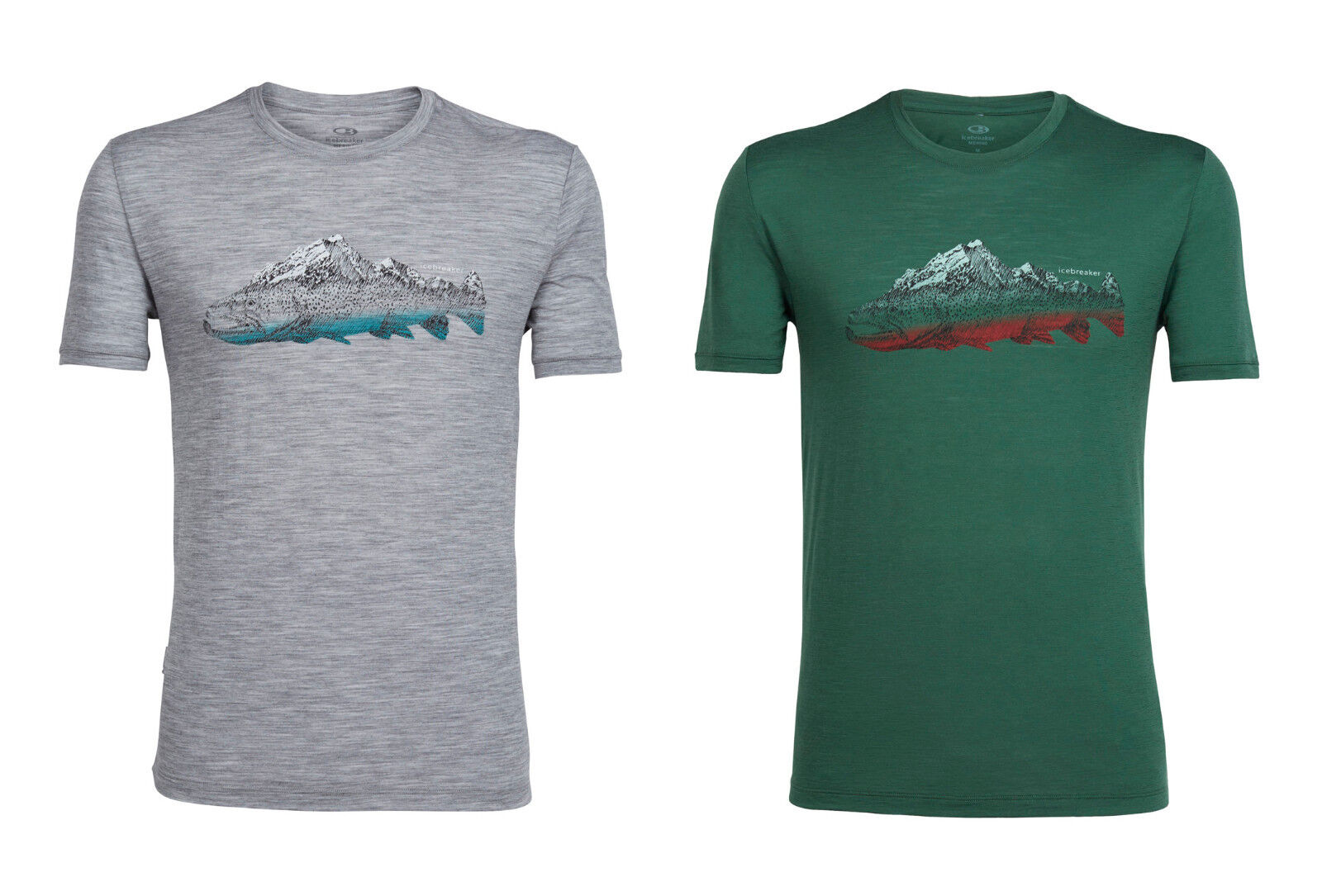 Icebreaker- Tech Lite Fin Peaks - 150g M² - Men's Shirt