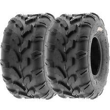 SunF 20x10-8 ATV UTV Tires 20x10x8 All Terrain Tubeless 6 PR A003  [Set of 2]