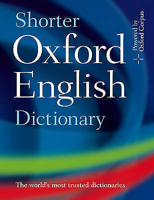 Shorter Oxford English Dictionary by Oxford Dictionaries (Hardback, 2007)Volume1