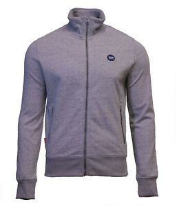 Superdry-Mens-New-Collective-Full-Zip-Track-Top-Sweatshirt-Long-Sleeve-Grey