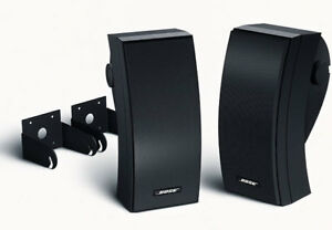 Bose 251 Environmental Outdoor Speakers Black Pair Ebay