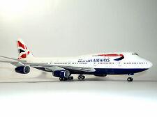 Hogan Wings British Airways Boeing 747-400 HG2346G 1/200 Reg# G-BNLT W/GEAR, New