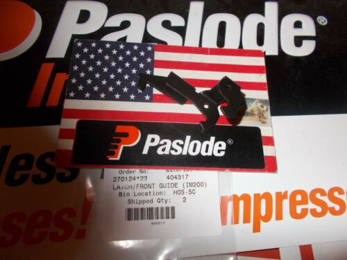 """IM200 /""""Genuine/"""" Paslode Part # 404317 LATCH//FRONT GUIDE"""
