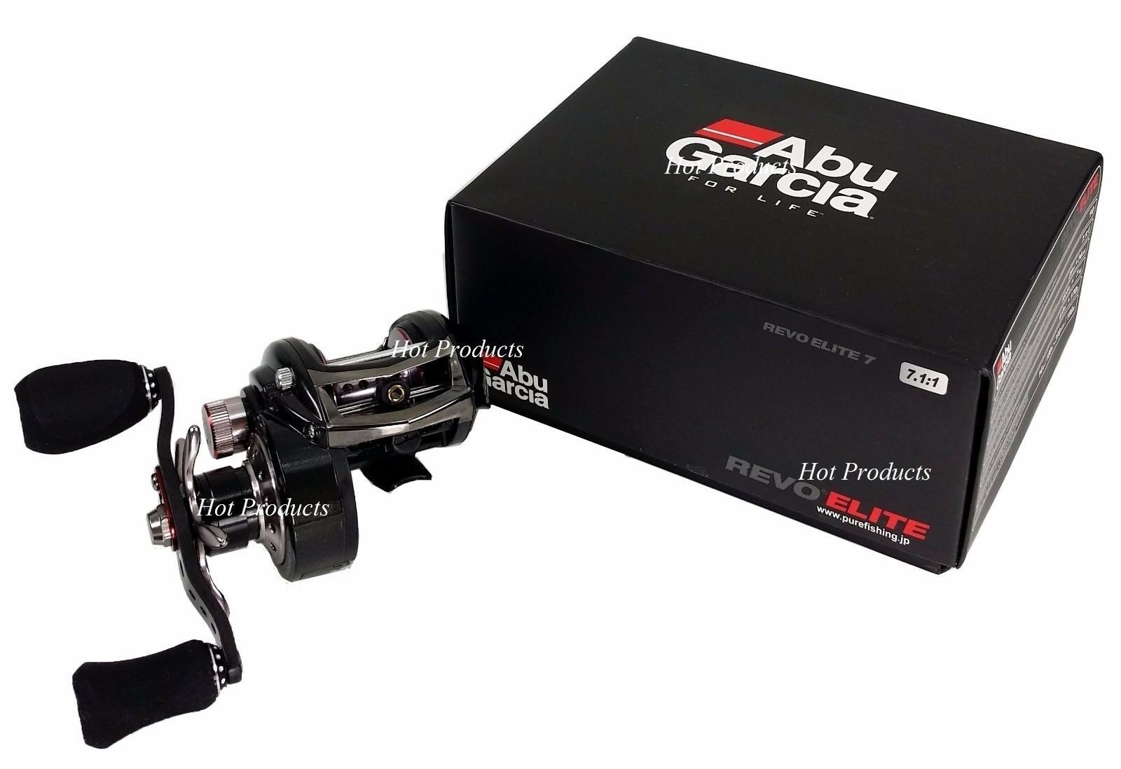 Abu Garcia REVO ELITE 7 7.1:1 RIGHT HAND High Speed Bait Casting Reel