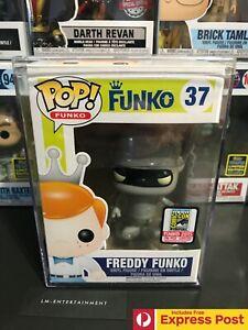 FREDDY-FUNKO-AS-BENDER-FUTURAMA-SDCC-2015-FUNKO-POP-VINYL-FIGURE-37-LE-196PCS