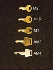 Lockout Key Set For M1 M2 M1r Am3 And Am4 Keys Disable Kill Lock Forever