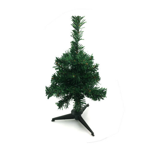 1//1.5//2ft Christmas Pine Tree Stand Bushy Xmas Traditional Decorations Gift UK