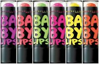 Maybelline Baby Lips Colored Lip Balm 8hrs Moisture Hydration Electro Pop 3.5g