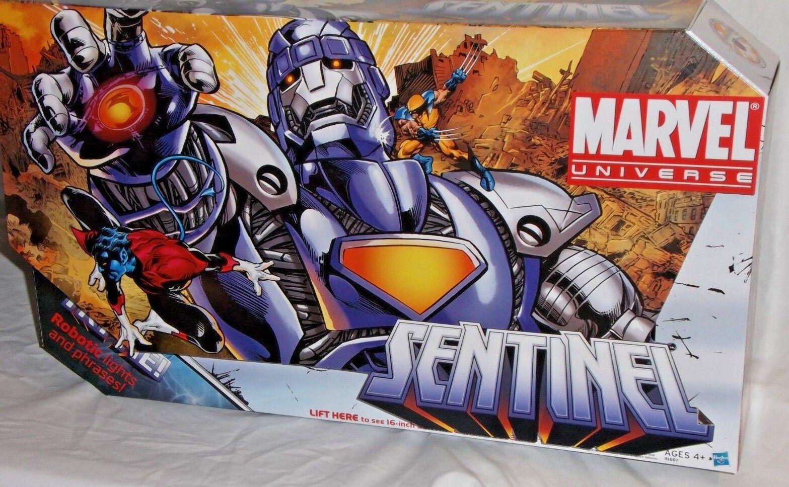 Hasbro Marvel Universe Sentinel X-men Guepardo 16  variante púrpura Figura De Acción