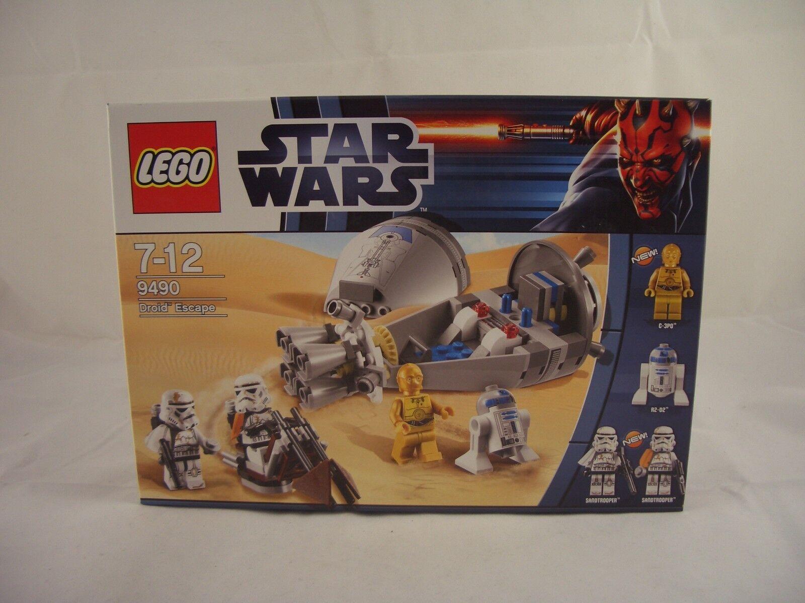 LEGO estrella guerras 9490 DROID ESCAPE nuovi  sigillati  shopping online di moda