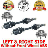Front Axles & Wheel Hubs Bearings Dodge Ram 1500 2002-2005 Rear Wheel Abs 4wd