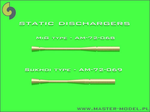 1//72 MASTER MODEL AM72068 14 x STATIC DISCHARGERS MIG TYPE