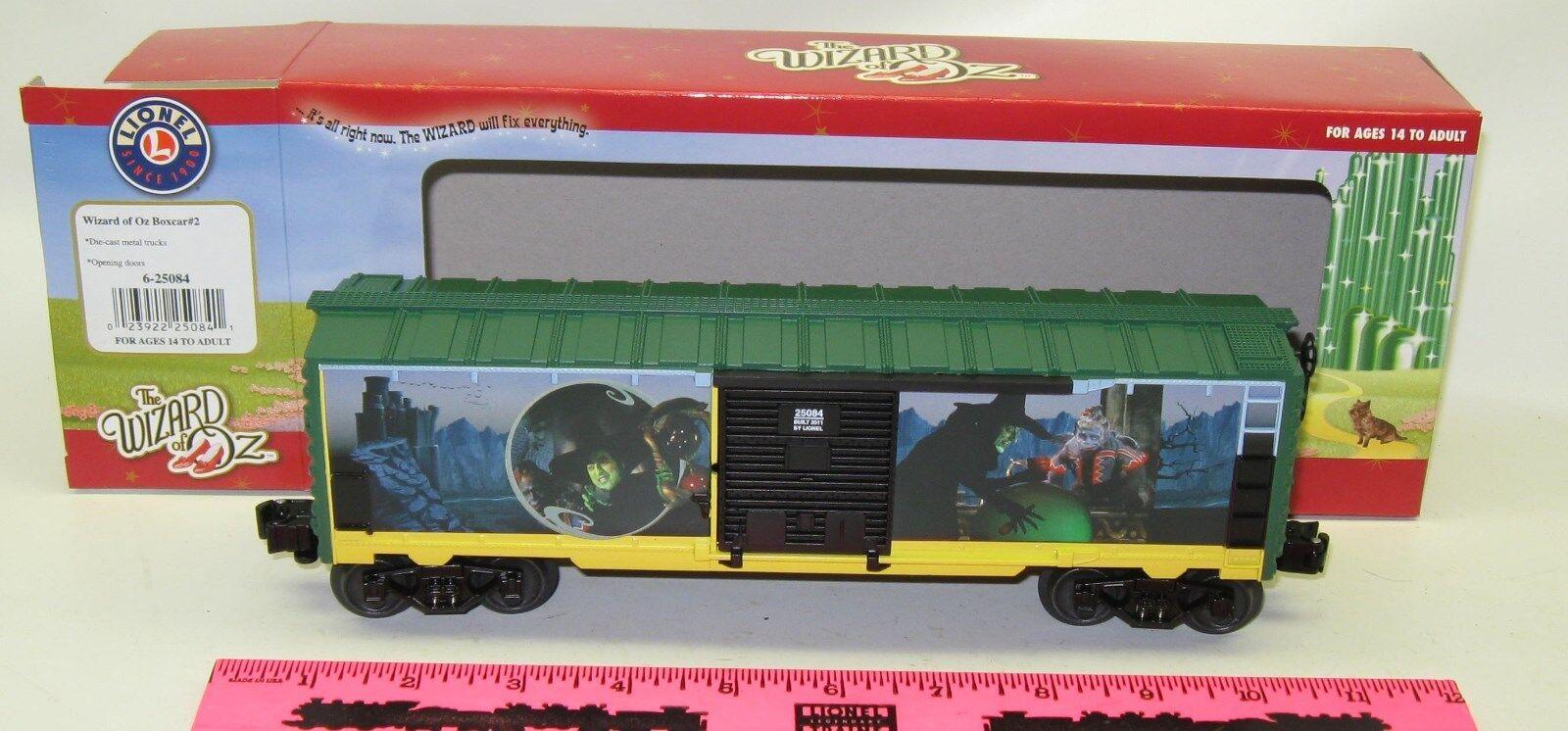 New Lionel 6-25084 Wizard of Oz boxcar